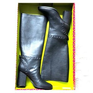 Tory Burch Black Contraire 90mm Boots